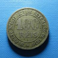 Brazil 100 Reis 1871 - Brasil
