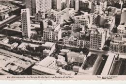 - CPSM P.F. - CASABLANCA - Le Temple Protestant, Rue Dupleix Et De Tours - 022 - Casablanca