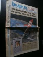 Brandpunt  1950 (HLN 29/04/1993) Boudewijn, Hergé, Mariemont, Briek Schotte, - Informations Générales