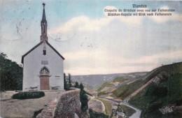 Luxembourg  -  Vianden - Chapelle Du Bildchen Avec Vue Sur Falkenstein - Vianden