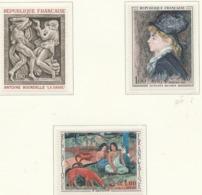 PIA  - FRANCIA  - 1968  : Arte Di Francia -  (Yv  1568-70) - Other