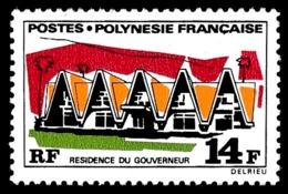 POLYNESIE 1970 - Yv. 73 **   Cote= 6,40 EUR - Résidence Du Gouverneur  ..Réf.POL24327 - Neufs