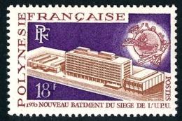 POLYNESIE 1970 - Yv. 80 **   Cote= 12,40 EUR - UPU, Berne. 18f  ..Réf.POL24323 - Neufs