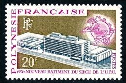 POLYNESIE 1970 - Yv. 81 **   Cote= 12,40 EUR - UPU, Berne. 20f  ..Réf.POL24324 - Neufs