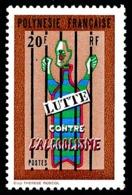 POLYNESIE 1972 - Yv. 92 **   Cote= 13,50 EUR - Lutte Contre L'alcoolisme  ..Réf.POL24332 - Neufs