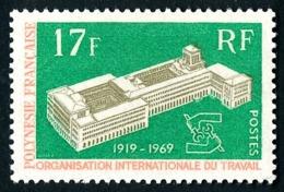 POLYNESIE 1969 - Yv. 70 **   Cote= 12,70 EUR - 50ème Anniv. De L'OIT  ..Réf.POL24319 - Polynésie Française