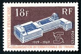 POLYNESIE 1969 - Yv. 71 **   Cote= 12,70 EUR - 50ème Anniv. De L'OIT  ..Réf.POL24320 - Polynésie Française