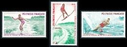 POLYNESIE 1971 - Yv. 86 87 88 **   Cote= 40,00 EUR - Ski Nautique (3 Val.)  ..Réf.POL24328 - Neufs