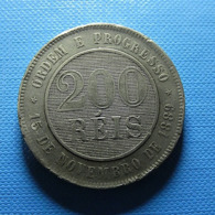 Brazil 200 Reis 1893 - Brazilië