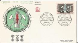 Enveloppe Premier Jour - FDC - 1959 - Ecole Supérieure Des Mines  - Paris - FDC