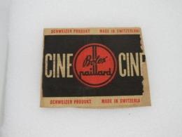 304 - Pub Sur Fragment D'enveloppe - Ciné - Bolex/Paillard - Suisse - Photos/Ciné - Supplies And Equipment