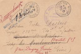 SERVICE DE RAPATRIEMENT DES INTERNÉS CIVILS. HOPITAL DES QUINZE-VINGT PARIS. COMMISSARIAT ANNEMASSE  INTERNES CIVILS - Documents
