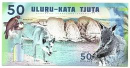Uluru-Kata Tjuta - National Park 50 Dollars  - Fantasia - Australië