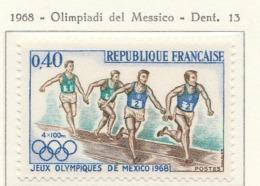PIA  - FRA - 1968 : Giochi Olimpici Del Messico - (Yv  1573) - Athletics