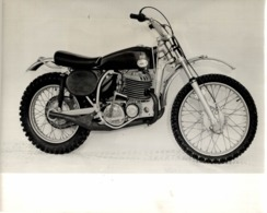 CHALLENGER SCRAMBLER MODEL 36 +-20cm X 13cm  Moto MOTOCROSS MOTORCYCLE Douglas J Jackson Archive Of Motorcycles - Fotos