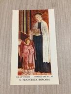 Santino S. Francesca Romana - Devotion Images