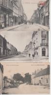 LOT DE 100 CPA TYPE PETITE CARTE  DROUILLE - Pas De Paris, Lourdes, Versailles, Mont St Michel ...  Qqes Ex En Scan  - - Postcards