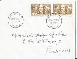 Enveloppe Premier Jour - FDC - 1959 -  D'Alembert - FDC