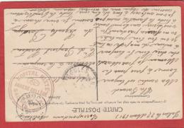 Marcophilie - Guerre 1914-1918 - Jura - Hôpital Mixte Annexe Collège - Carte En FM 1915 - Postmark Collection (Covers)