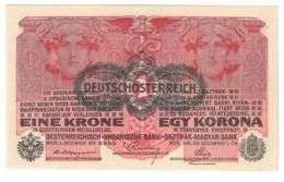 AUSTRIA1KRONEN1919P49UNC.CV. - Austria
