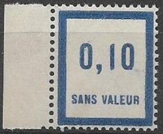 Fictif N°27 De France Neuf ** Émission De 1935 - Phantomausgaben
