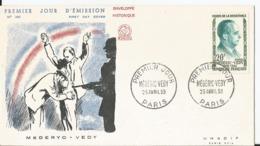 Enveloppe Premier Jour - FDC - 1959 -  Médéryc Vedy - FDC