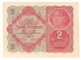 AUSTRIA2KRONEN1922P74UNC.CV. - Austria