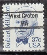 USA Precancel Vorausentwertung Preo, Locals Massachusetts, West Groton 843 - Vorausentwertungen