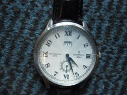 MONTRE SUISSE SWISS QUARTZ ROMANSON Adel Water Resistant 3ATM Chiffres Arabes Et Romains - TL3546MX - Horloge: Modern