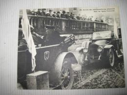 Fiche Photo - Document - Dossier 185 Guerre 14/18 - No 24 Arrivée Des Plénipotentiaires Allemands L'ARMISTICE - 1914-18