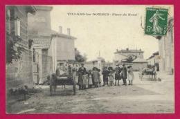CPA Villars Les Dombes - Place Du Nord - Villars-les-Dombes