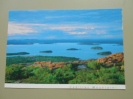ETATS UNIS ME MAINE BAR HARBOR FRENCHMAN BAY AND THE PORCUPINE ISLANDS FROM CADILLAC MOUNTAIN - Etats-Unis