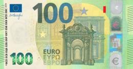 EURO FRANCE 100 UD U004 UNC DRAGHI CH09 - EURO