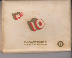 PAQUET CIGARETTES VIDE. GRECE OU RUSSIE N°10 - Empty Cigarettes Boxes