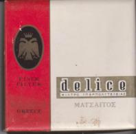 PAQUET CIGARETTES VIDE. GRECE  . DELICE - Empty Cigarettes Boxes