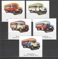 A914 SAMOA CARS BUSSES !!! SELF-ADHESIVE 1SET MNH - Busses