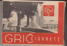 PAQUET CIGARETTES VIDE. GRIC - Empty Cigarettes Boxes