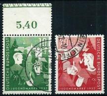 Alemania Federal Nº 39/40 Usado Cat.50€ - Used Stamps