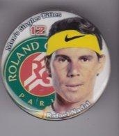 Pin's RAFAEL NADAL ROLAND GARROS - Tennis