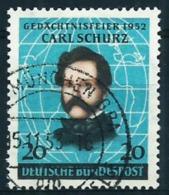 Alemania Federal Nº 41 Usado Cat.10€ - Used Stamps
