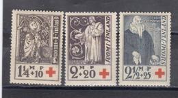 Finland 1933 - Red Cross, Mi-Nr. 181/83, MNH** - Finland