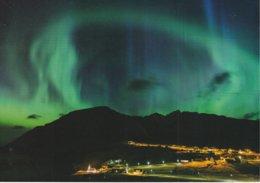 "Faroe Islands, Aurora Borealis, Vioareioi Total Solar Eclipse, 8.3"" 5..8""  21 Cm X 14.8 Cm - Faroe Islands"