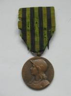 """MÉDAILLE COMMÉMORATIVE DE LA GUERRE 1870-1871  MODÈLE """" DUC DES CARS """"   ***** EN ACHAT IMMEDIAT **** - Médailles & Décorations"""