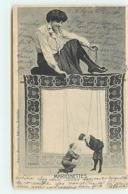 Surréalisme - E. Ernst - Marionnettes - Femme Manipulant Des Marionnettes - Theatre