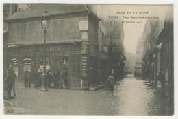 75 - Crue De La Seine -  Paris  -  Place Saint-André-des-Arts - La Crecida Del Sena De 1910