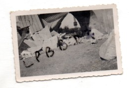 LOT De 2 PHOTOS - 93 - NEUILLY SUR MARNE - MILITARIA - VIADUC Et PONT De LA MALTOURNEE Dynamités En 1944 - RARE - Krieg, Militär