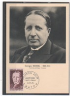 FR 1964 MANDEL - Maximumkaarten