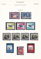 DDR - 1966 - Sammlung - Gest./Ungebr. - DDR