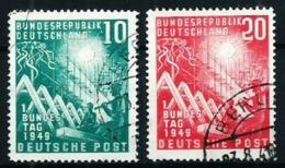 Alemania Federal Nº 1/2 Usado Cat.75€ - Used Stamps
