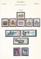 DDR - 1967 - Sammlung - Gest./Ungebr. - DDR